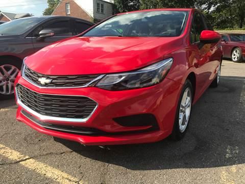 2016 Chevrolet Cruze for sale at Ryan Auto Sales in Warren MI
