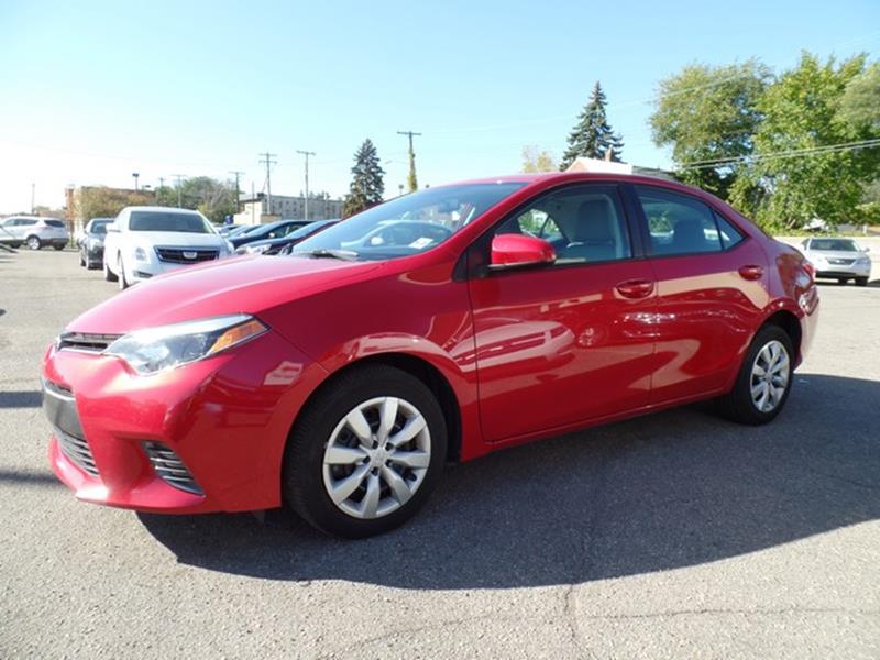 2016 Toyota Corolla for sale at Ryan Auto Sales in Warren MI