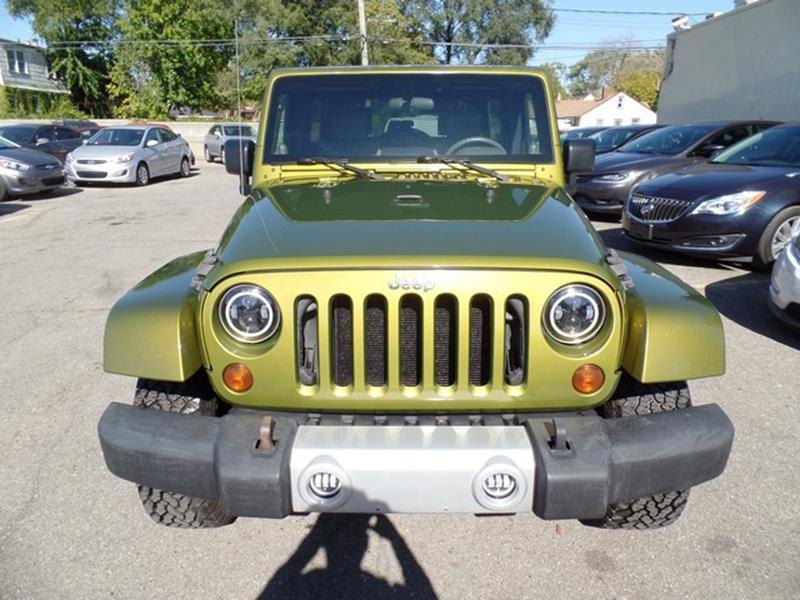 2008 Jeep Wrangler Unlimited Detroit Used Car for Sale