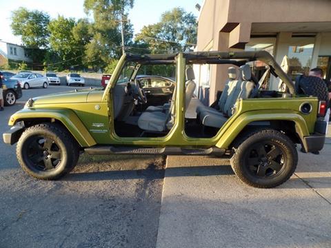 2008 Jeep Wrangler Unlimited for sale at Ryan Auto Sales in Warren MI