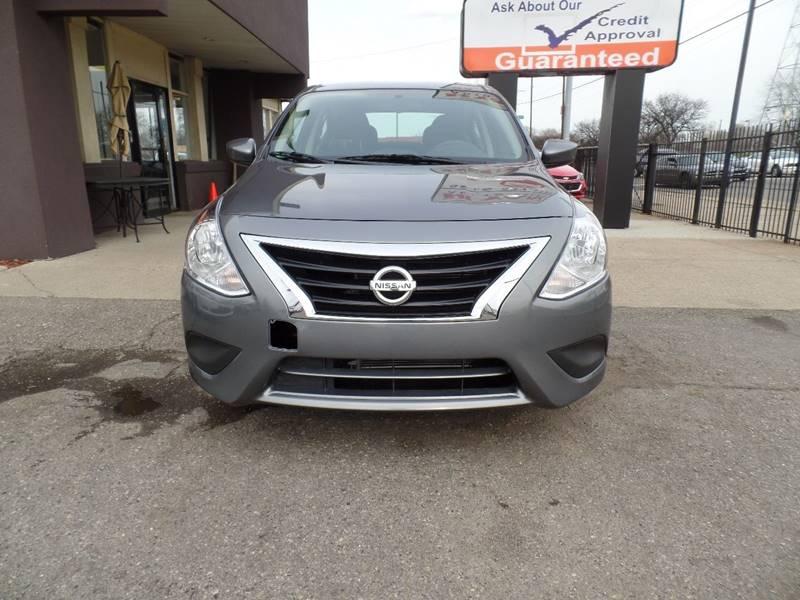 2018 Nissan Versa Detroit Used Car for Sale