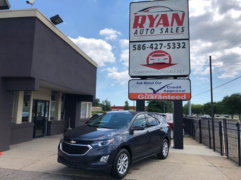 2018 Chevrolet Equinox Detroit Used Car for Sale