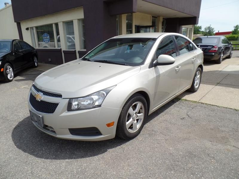 2013 Chevrolet Cruze Detroit Used Car for Sale
