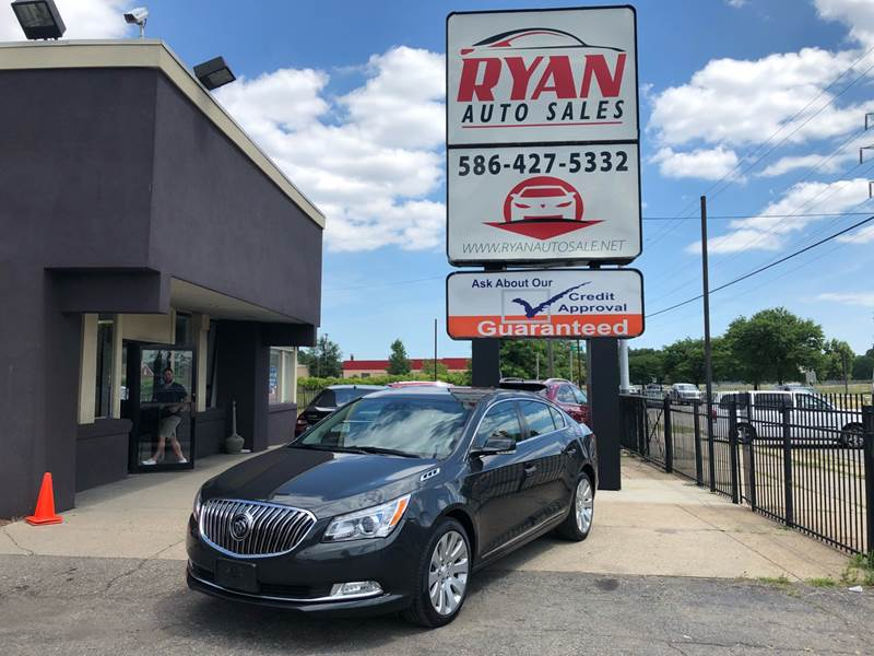 2014 Buick LaCrosse for sale at Ryan Auto Sales in Warren MI