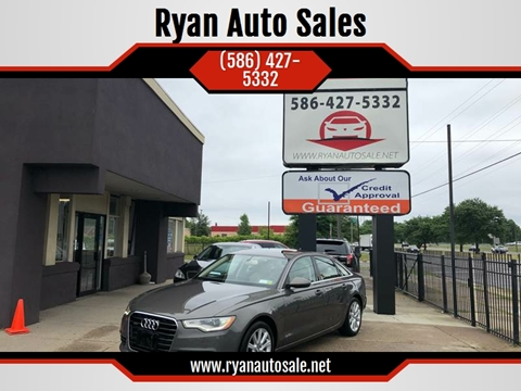 2013 Audi A6 for sale at Ryan Auto Sales in Warren MI