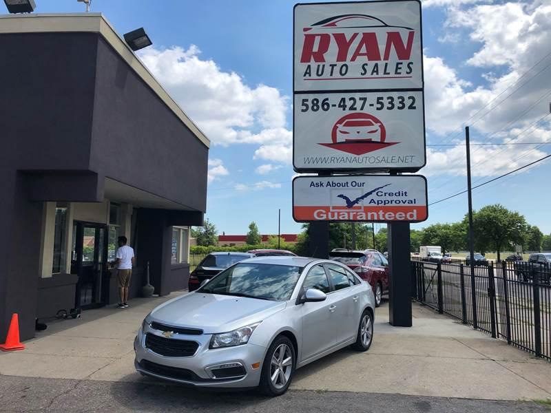 2015 Chevrolet Cruze car for sale in Detroit