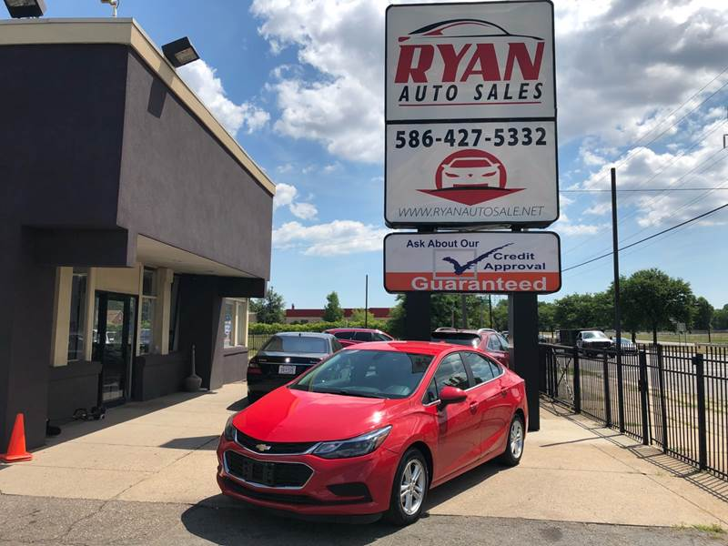 Ryan Auto Sales >> Detroit Used Car For Sale 2016 Chevrolet Cruze 48091 At Ryan