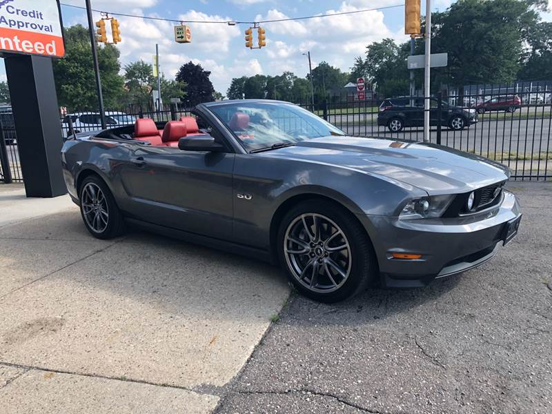 2011 Ford Mustang Detroit Used Car for Sale