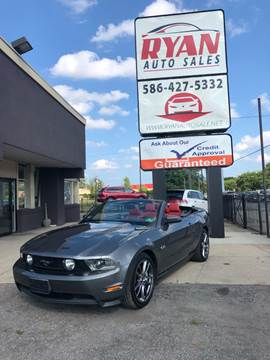 2011 Ford Mustang for sale at Ryan Auto Sales in Warren MI