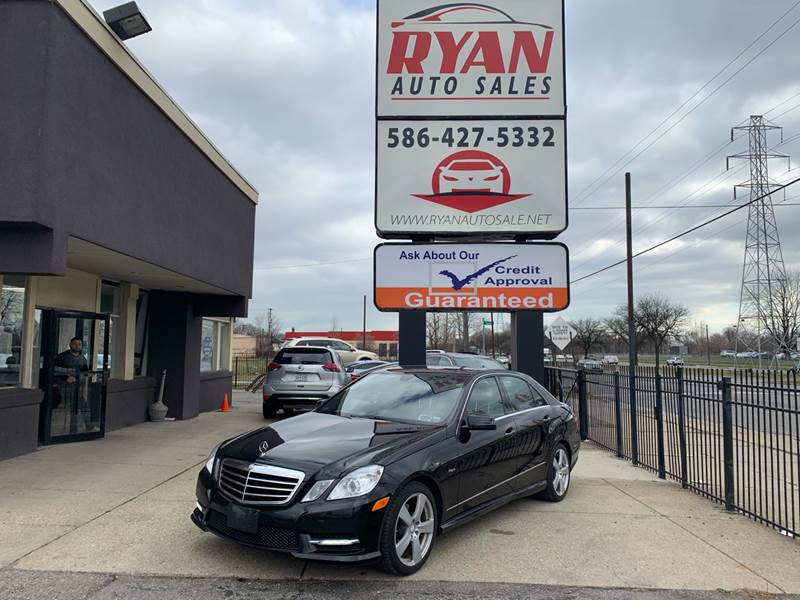 2012 Mercedes-Benz E-class car for sale in Detroit