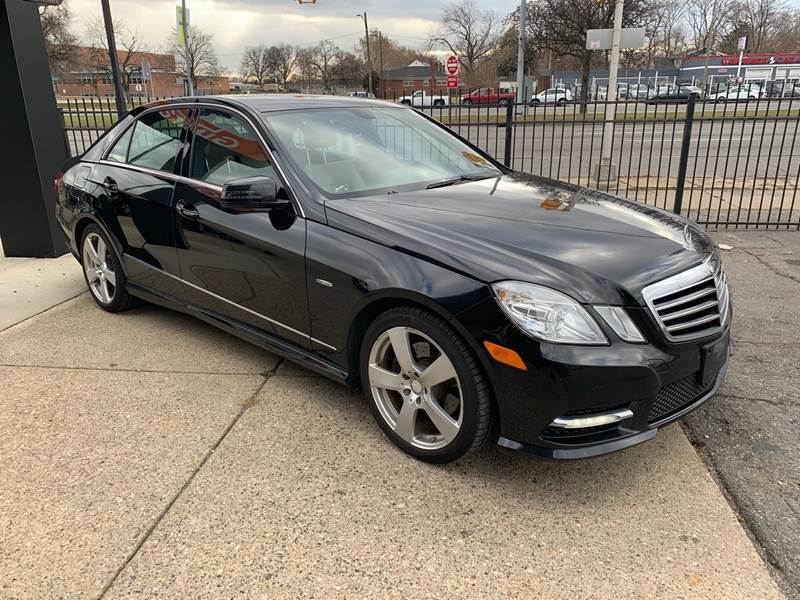 2012 Mercedes-Benz E-class Detroit Used Car for Sale