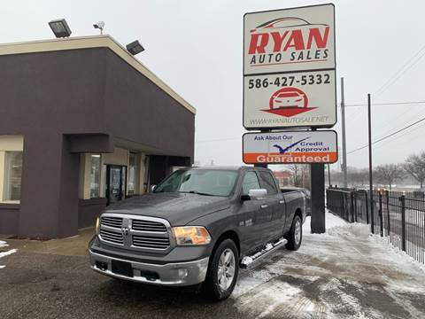 2014 RAM Ram Pickup 1500 for sale at Ryan Auto Sales in Warren MI