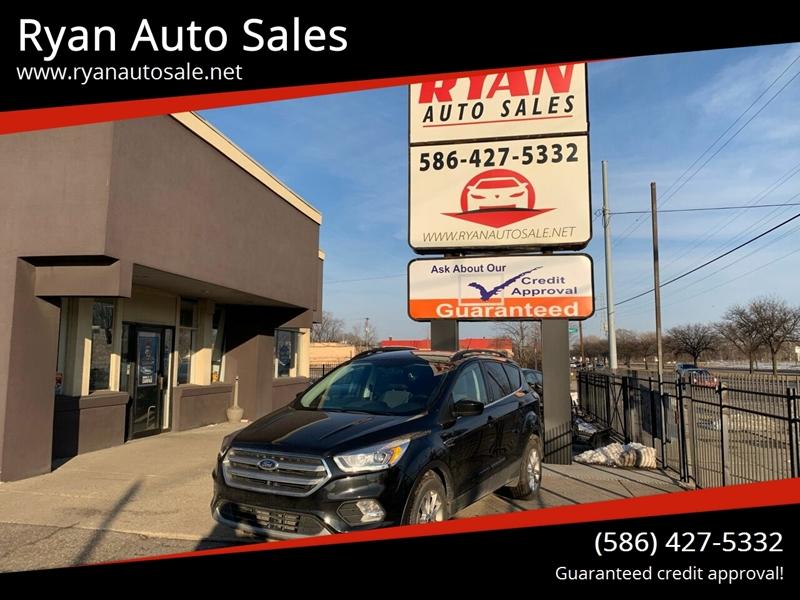 2017 Ford Escape for sale at Ryan Auto Sales in Warren MI