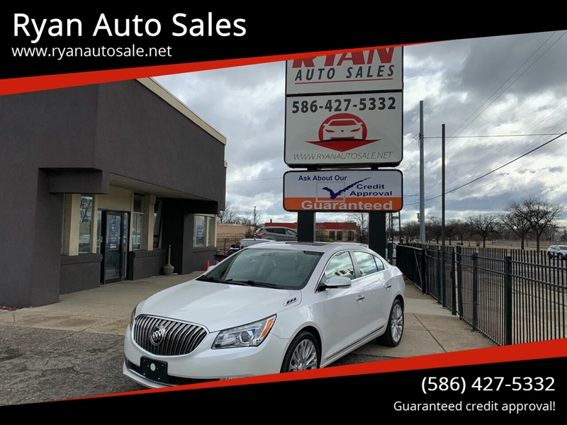 2016 Buick LaCrosse for sale at Ryan Auto Sales in Warren MI