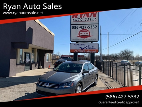 2015 Volkswagen Passat for sale at Ryan Auto Sales in Warren MI
