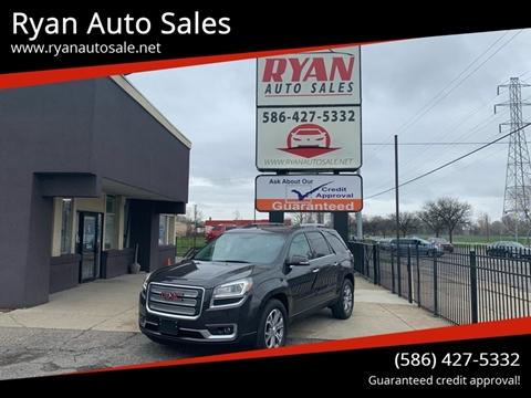 2015 GMC Acadia for sale at Ryan Auto Sales in Warren MI