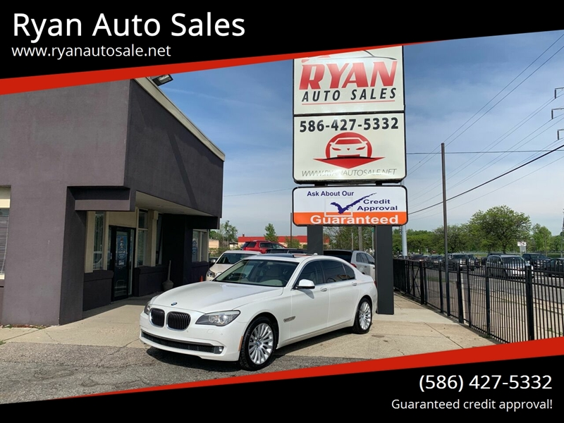 2011 Bmw 7 Series Detroit Used Car for Sale