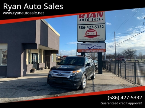 2014 Ford Explorer for sale at Ryan Auto Sales in Warren MI
