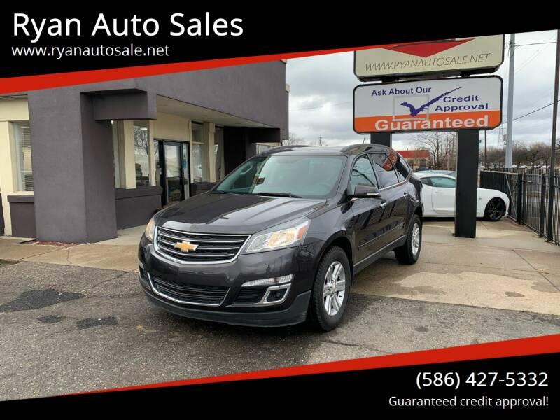 2014 Chevrolet Traverse for sale at Ryan Auto Sales in Warren MI