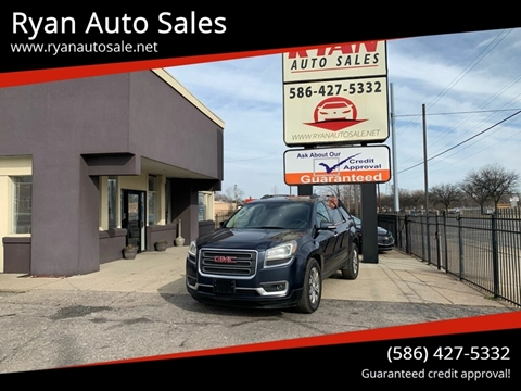 2016 GMC Acadia for sale at Ryan Auto Sales in Warren MI