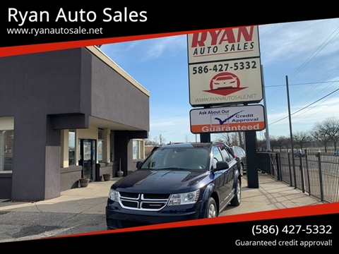 2017 Dodge Journey for sale at Ryan Auto Sales in Warren MI