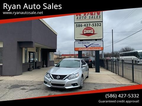 2017 Nissan Altima for sale at Ryan Auto Sales in Warren MI