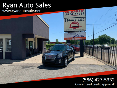2015 GMC Terrain for sale at Ryan Auto Sales in Warren MI
