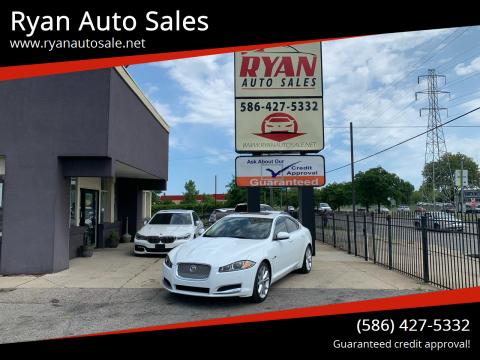 2015 Jaguar XF for sale at Ryan Auto Sales in Warren MI