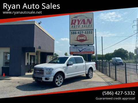 2016 Ford F-150 for sale at Ryan Auto Sales in Warren MI