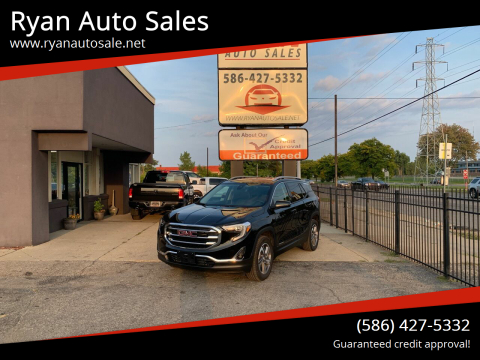 2020 GMC Terrain for sale at Ryan Auto Sales in Warren MI