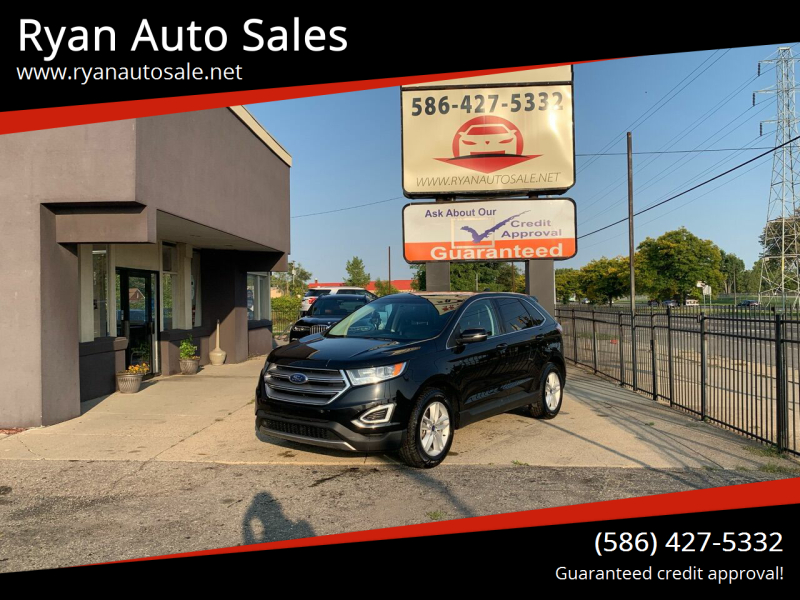 2017 Ford Edge for sale at Ryan Auto Sales in Warren MI