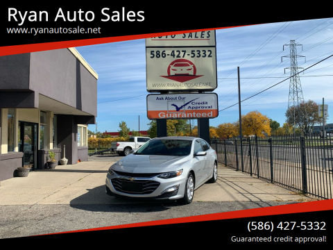 2020 Chevrolet Malibu for sale at Ryan Auto Sales in Warren MI