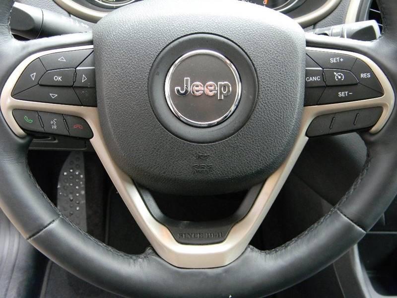 2017 Jeep Cherokee Limited 4dr SUV - Salina KS
