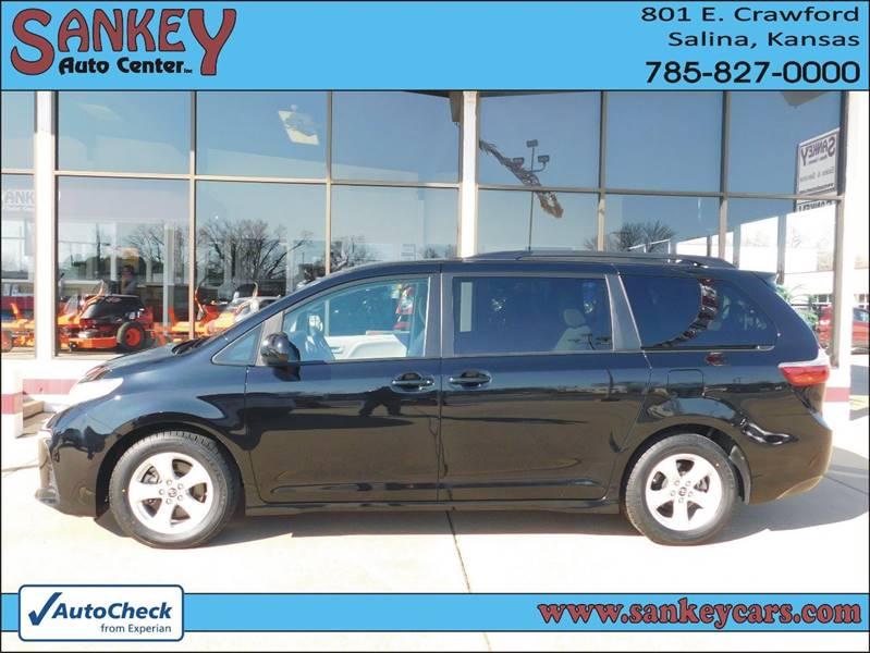 2019 Toyota Sienna for sale at Sankey Auto Center, Inc in Salina KS