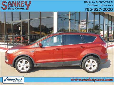 2015 Ford Escape for sale at Sankey Auto Center, Inc in Salina KS