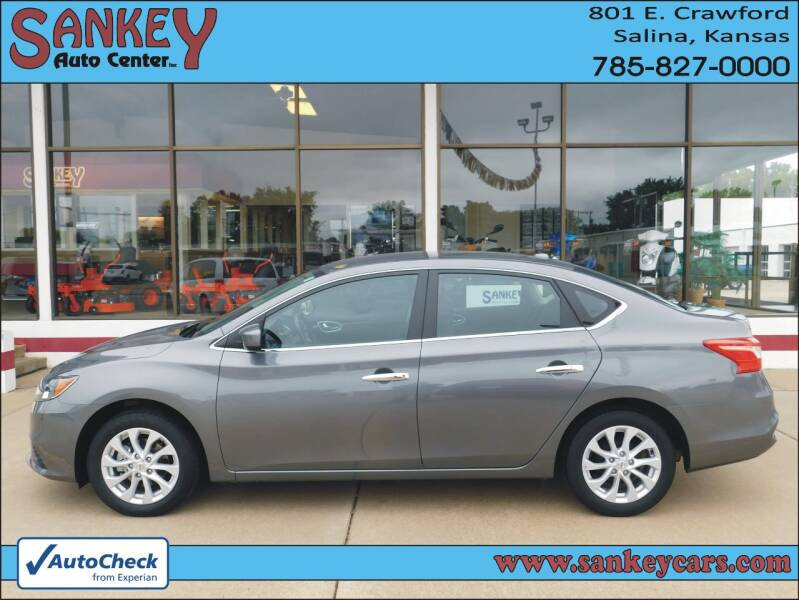 2019 Nissan Sentra for sale at Sankey Auto Center, Inc in Salina KS