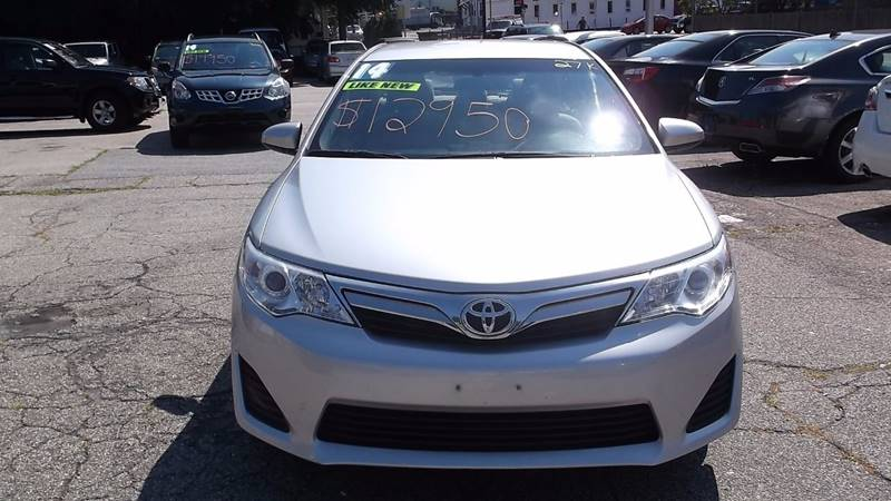 2014 Toyota Camry LE 4dr Sedan - Worcester MA