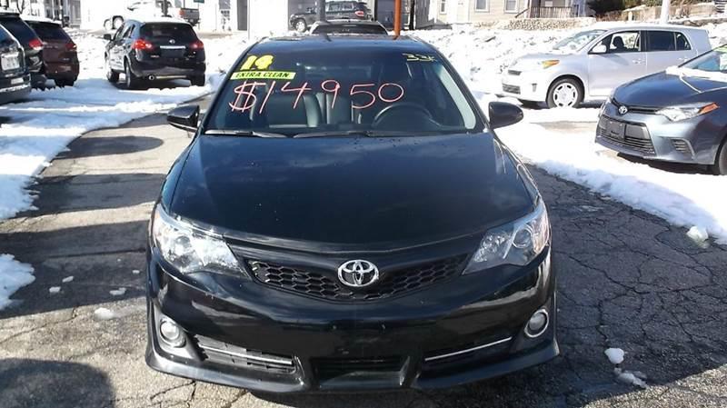 2014 Toyota Camry SE 4dr Sedan - Worcester MA