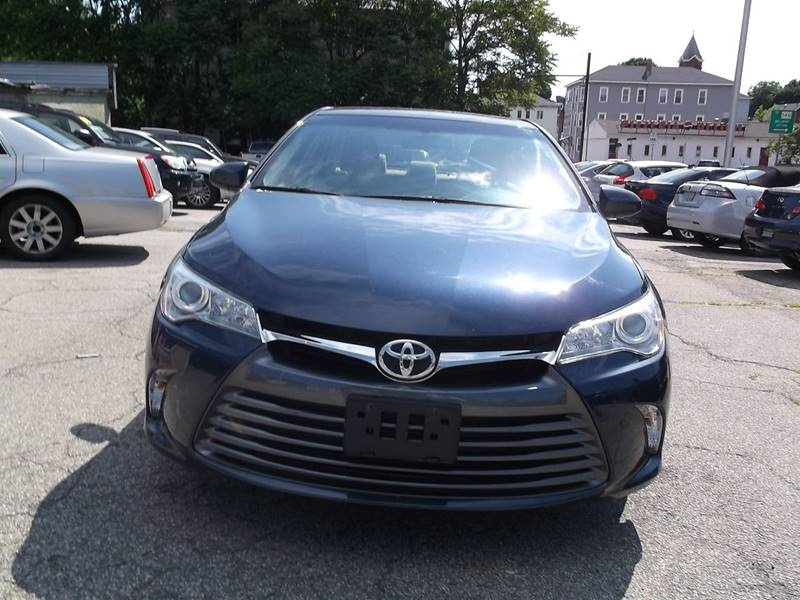 2015 Toyota Camry for sale at Sharp Auto Center in Worcester MA