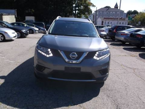 2015 Nissan Rogue for sale at Sharp Auto Center in Worcester MA
