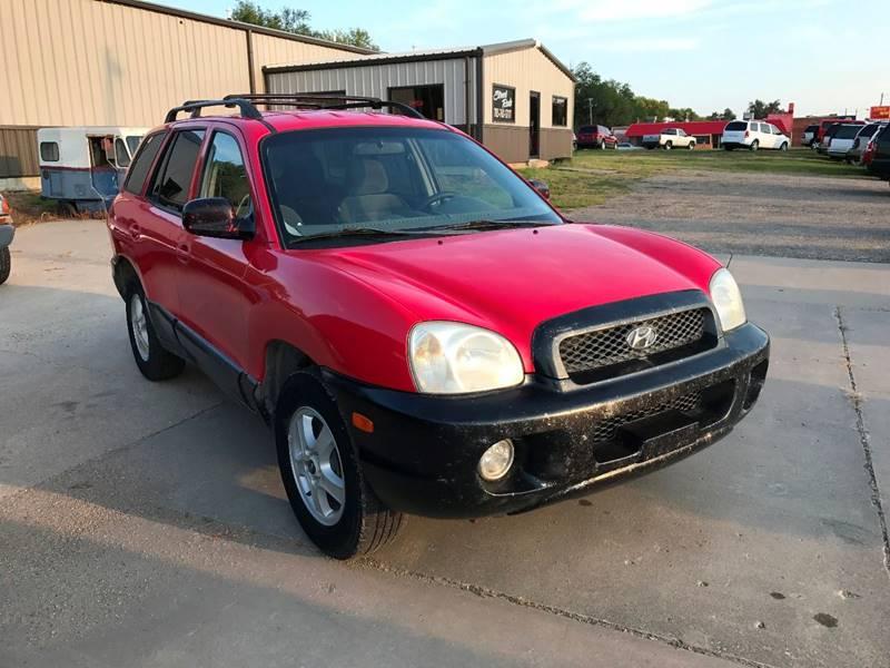 2003 Hyundai Santa Fe for sale at Street Rods in Junction City KS