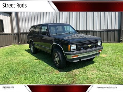 1991 Chevrolet S-10 Blazer for sale in Junction City, KS