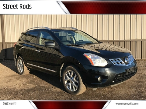 2013 Nissan Rogue SV w/SL Package for sale at Street Rods in Junction City KS