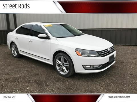2013 Volkswagen Passat TDI SEL Premium for sale at Street Rods in Junction City KS
