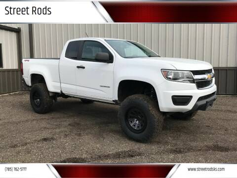 2016 Chevrolet Colorado Work Truck for sale at Street Rods in Junction City KS