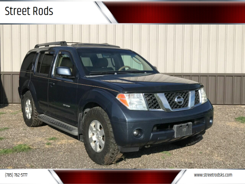 2006 Nissan Pathfinder for sale at Street Rods in Junction City KS
