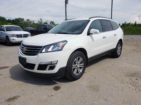 2014 Chevrolet Traverse for sale at Varco Motors LLC - Inventory in Denison KS