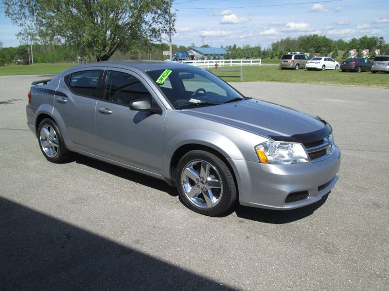2013 Dodge Avenger SE 4dr Sedan - Hart MI