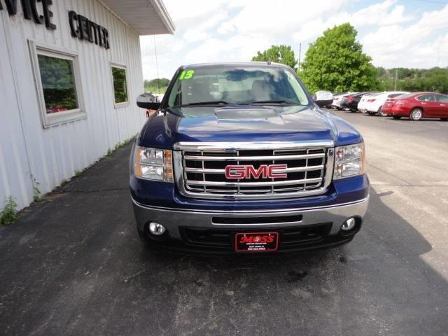 2013 GMC Sierra 1500 4x4 SLE 4dr Crew Cab 5.8 ft. SB - West Union IA