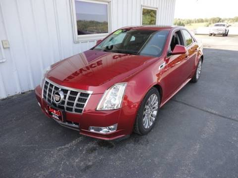2012 Cadillac CTS for sale in West Union, IA